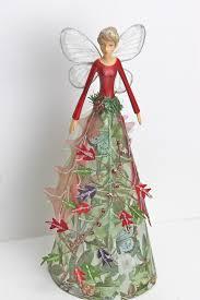 gisela graham christmas forest whispers tree top fairy angel
