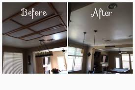 can lights in kitchen replacing updating fluorescent ceiling box lights with ceiling