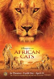 african cats disneynature