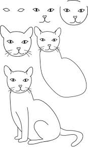 best 25 easy cat drawing ideas that you will like on pinterest