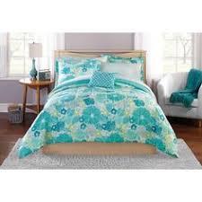 Mainstays Bedding Sets Mainstays Bed In A Bag Grace Medallion Bedding Set Walmart Com
