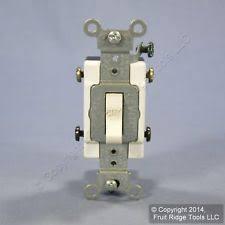 double pole light switch leviton ivory commercial double pole light switch 20a ebay