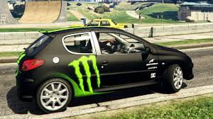 peugeot 206 gti peugeot 206 gti liveries gta v youtube