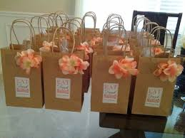 bridal party gift bags ideas for wedding shower gift bags imbusy for