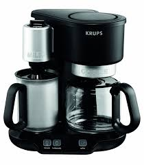 Sur La Table Coffee Makers Amazon Com Krups Km310850 Latteccino 2 In 1 Coffee Maker Machine