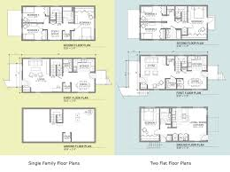 chicago floor plans new homes for south chicago u2013 landon bone baker architects