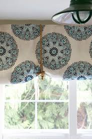 Making A Window Valance How To Make A No Sew Rolled Fabric Shade The Inspired Room