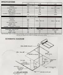 saver water heating system schematic diagram