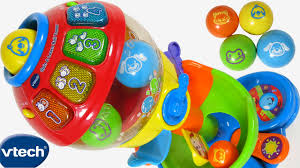 baby toys with lights and sound new vtech baby spin learn ball tower toy 100 lights