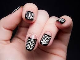 half nail art images nail art designs