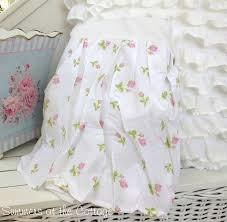 White Ruffle Bed Skirt Shabby Chic Bedskirts Rachel Ashwell Shabby Chic Petticoat Ruffles