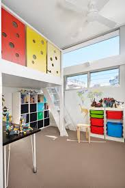 wooden kids panel with loft bed kids contemporary and adjustable