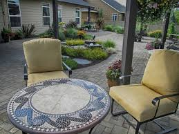 Large Paver Patio by Landscaping Portfolio Highlights Woody U0027s Custom Landscaping
