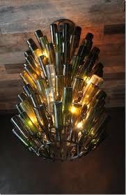 lights made out of wine bottles 3d model of recycled wine bottle l lighting pinterest