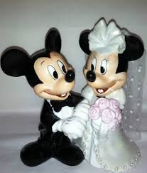 mickey and minnie cake topper vintage mickey and minnie wedding cake topper melitafiore