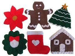 crochet pattern cv029 christmas potholders pdf download