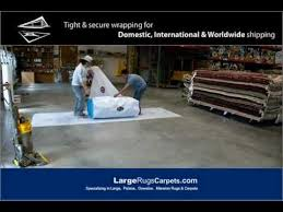 Shipping Rugs Folding Wrapping U0026 Shipping Rugs Largerugscarpets Com Youtube