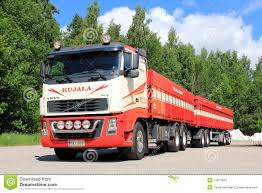 trailer volvo volvo fh 16 truck with trailer editorial stock photo image 31817843