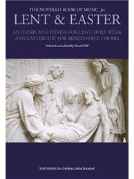 easter choral the novello book of for lent easter choral sheet