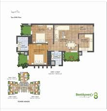 1300 sq ft apartment floor plan 2 bhk 1300 sq ft apartment for sale in agrante beethovens 8 at