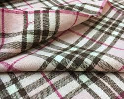 plaid vs tartan burberry fabric etsy
