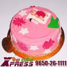 new born baby fondant cake delhi ncr cake express ghaziabad