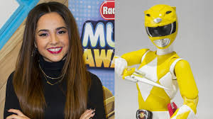 becky cast yellow power ranger power rangers film