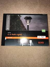 portfolio solar path lights portfolio led landscape lights solar powered 6 ct pathway light set