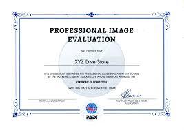 Padi Flag Professional Image Evaluation Service U2013 Padi Pros South East Asia