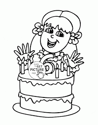 coloring pages happy birthday happy 6th birthday coloring page for kids holiday coloring