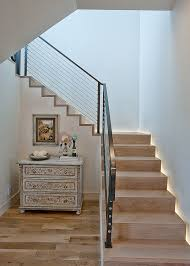 outdoor stair railing ideas staircase transitional with antique