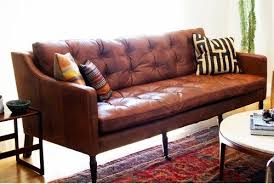 Tufted Brown Leather Sofa Impressive Captivating Leather Sofa Furniture On Pinterest