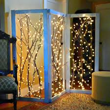 room dividers diy mark montano twinkling branches room divider diy