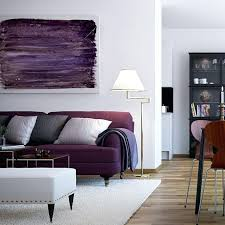 comfort sofa bright purple living room living room style city living with