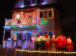 where see best christmas lights around boston artery