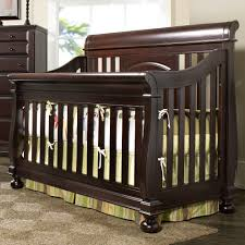 Cribs That Convert Into Beds by Creations Summer U0027s Evening Convertible Sleigh Crib In Espresso
