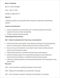Engineering Technician Resume Sample by Automobile Resume Template U2013 22 Free Word Pdf Documents Download