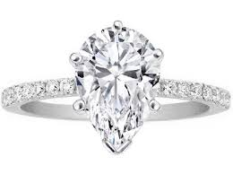teardrop diamond ring pear engagement rings from mdc diamonds nyc