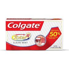 Super Kit Creme Dental Colgate Total 12 Clean Mint - Pasta de Dente no  &YY78