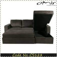 Corner Sofa Bed With Storage by Lounge Sofa Fabric Corner Sofa Bed Lift Up Storage Bed Cs 128