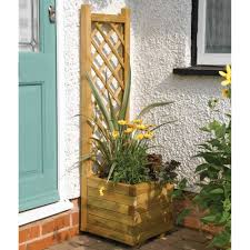 wooden planters for your garden