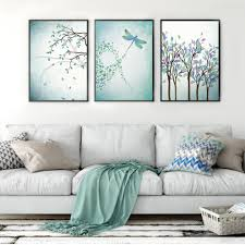 Wall Art Paintings For Living Room Compare Prices On Dragonfly Wall Art Online Shopping Buy Low