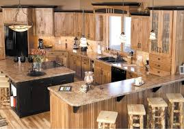 rustic hickory kitchen cabinets 33 best ideas hickory cabinets for naturally beautiful kitchen