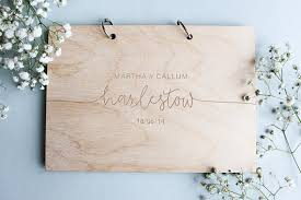 modern wedding guest book modern wedding guest book wooden wedding guest book wooden