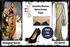 How To Drape A Gujarati Style Saree How To Wear Designer Saree Dhoti Saree Pant Style Saree Indo