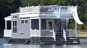 home design alternatives st louis gorgeous luxury cottage tiny house boat with porch u0026 roof sun deck