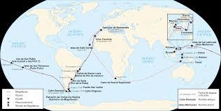 Vasco Da Gama Route Map by Theageofdiscovery Explorers