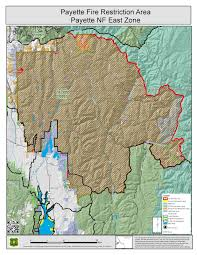 Current Wildfire Map Idaho by Idaho Fire Information Payette Fire Restrictions Area