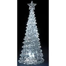 14 75 icy led lighted tree table top decoration
