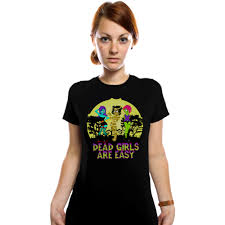 Girls Halloween Shirts by Dead Girls Are Easy T Shirts From Terri Garey
